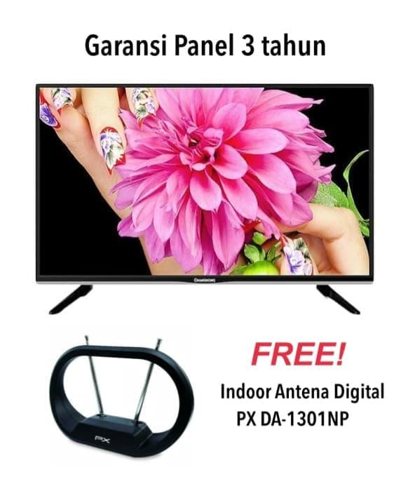 Changhong 32G4A LED TV [32 inch]2HDMI,2USB,1VGA+ Antena Px DA-1301NP