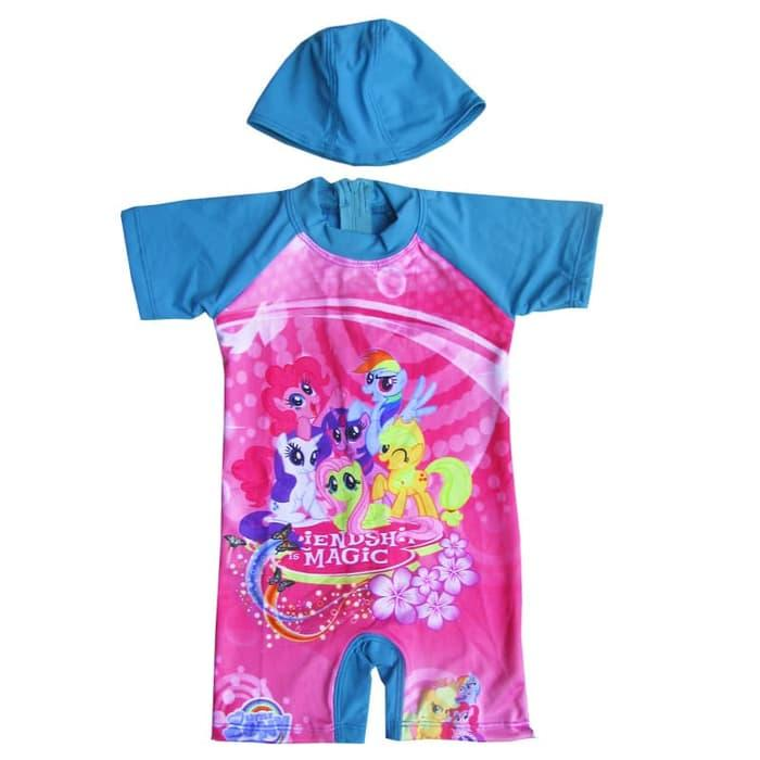 Terbaru Baju Renang Bayi Karakter My Little Pony - K065 By Childrenindo.