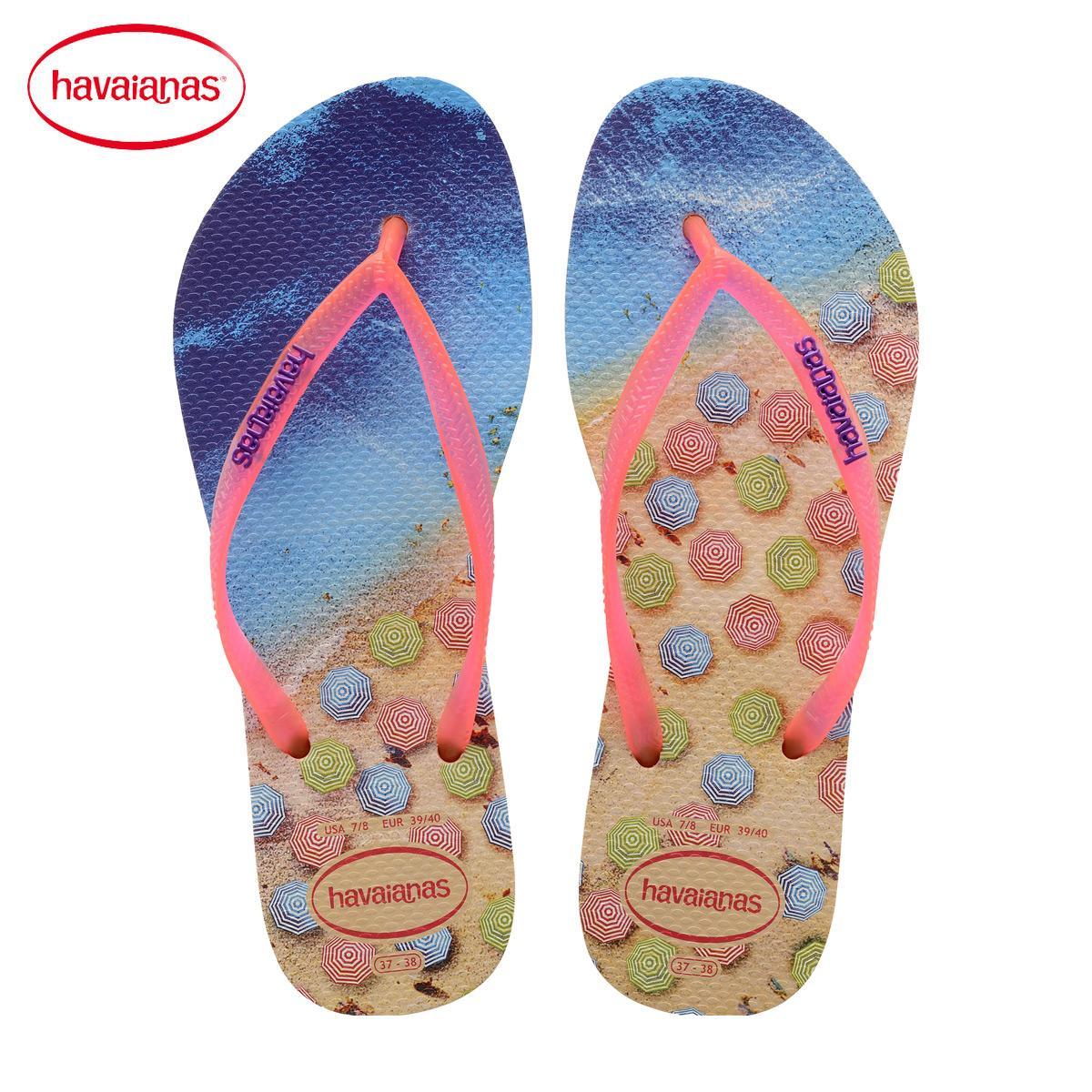 Havaianas Sepatu Anak Sendal Pantai Kopi (Kopi)