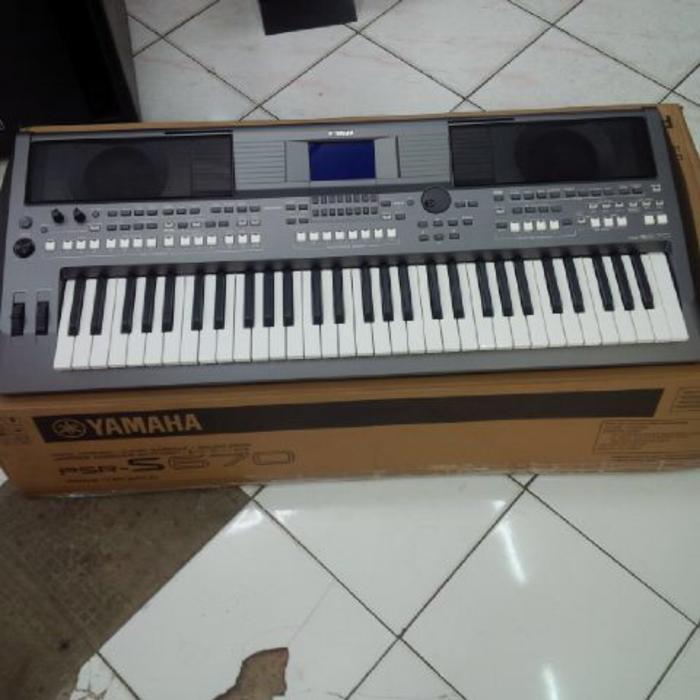 ORIGINALS  Yamaha PSR S-670 / PSRS 670 / PSR 670 / Keyboard Arranger Garansi Asli