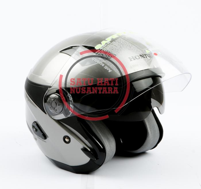 Honda ORI Helm / Helmet Luxury Stylish Helmet Half Face