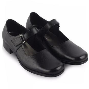Nasywa   Sepatu Pantofel Paskibra   Sepatu Sekolah Formal Wanita N01 - Hitam fcd7fd0b83