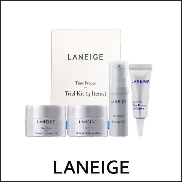 Laneige Time Freeze Trial Kit - 4 Items Travel Size