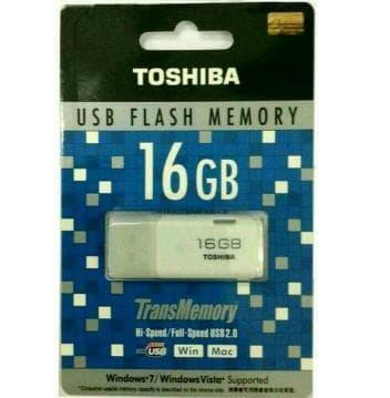 Harga Spesial!! Buy 1 Get 1 Flashdisk Toshiba 16 Gb Limited - ready stock