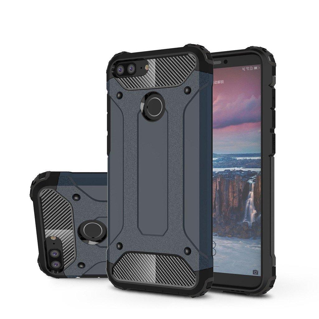Huawei Honor 10 Lite Case, ruilean Hibrida TPU PC Heavy Duty Armor Shock Menyerap Pelindung Case Cover untuk Huawei Kehormatan 10 Lite (Seperti Yang Ditunjukkan)