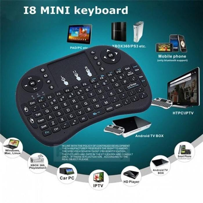 Wireless Mini Keyboard i8 with TouchPad and Air Mouse