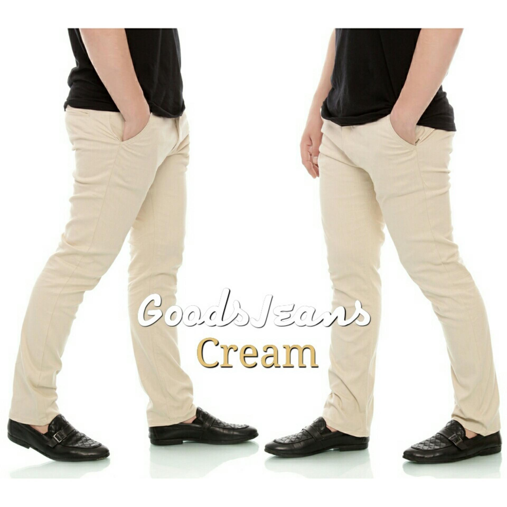 Buy Sell Cheapest Celana Panjang Abu Best Quality Product Deals Chino Impresif Grey Pants Pria