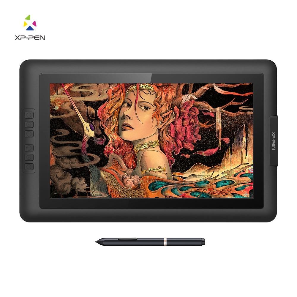 XP-Pen® Artist15.6 IPS Drawing Pen Display Graphics Drawing Monitor with Battery-free Passive Stylus (8192 levels pressure)