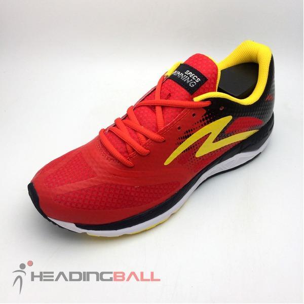 Sepatu Running Lari Specs Original Dual Cardio Emperor Red 200528 BNIB
