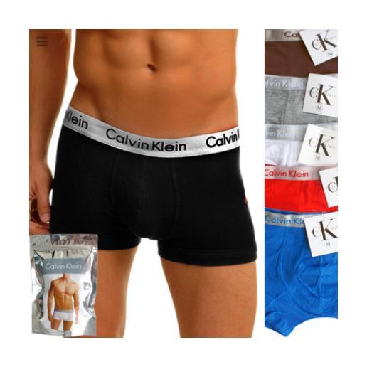 3x Celana Dalam/Boxer Pria CK (WARNA RANDOM) BBS