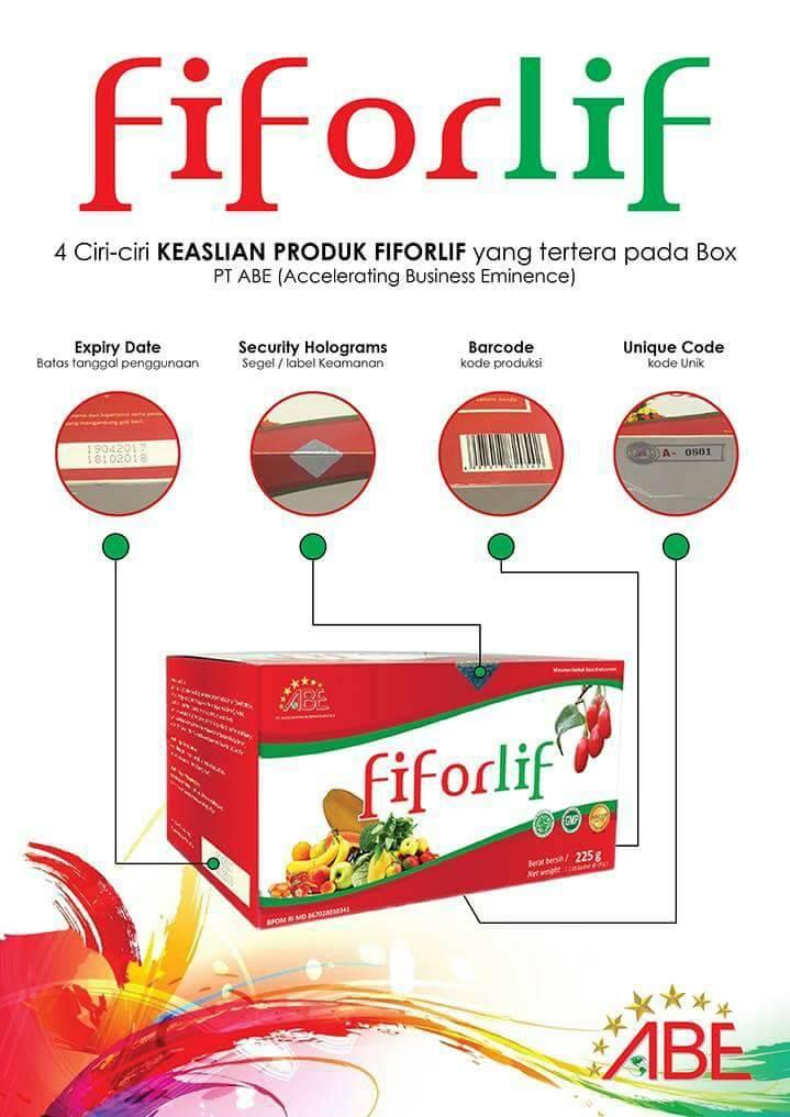ABE Fiforlif Original Jakarta & Legal Detox dan Penghancur Lemak