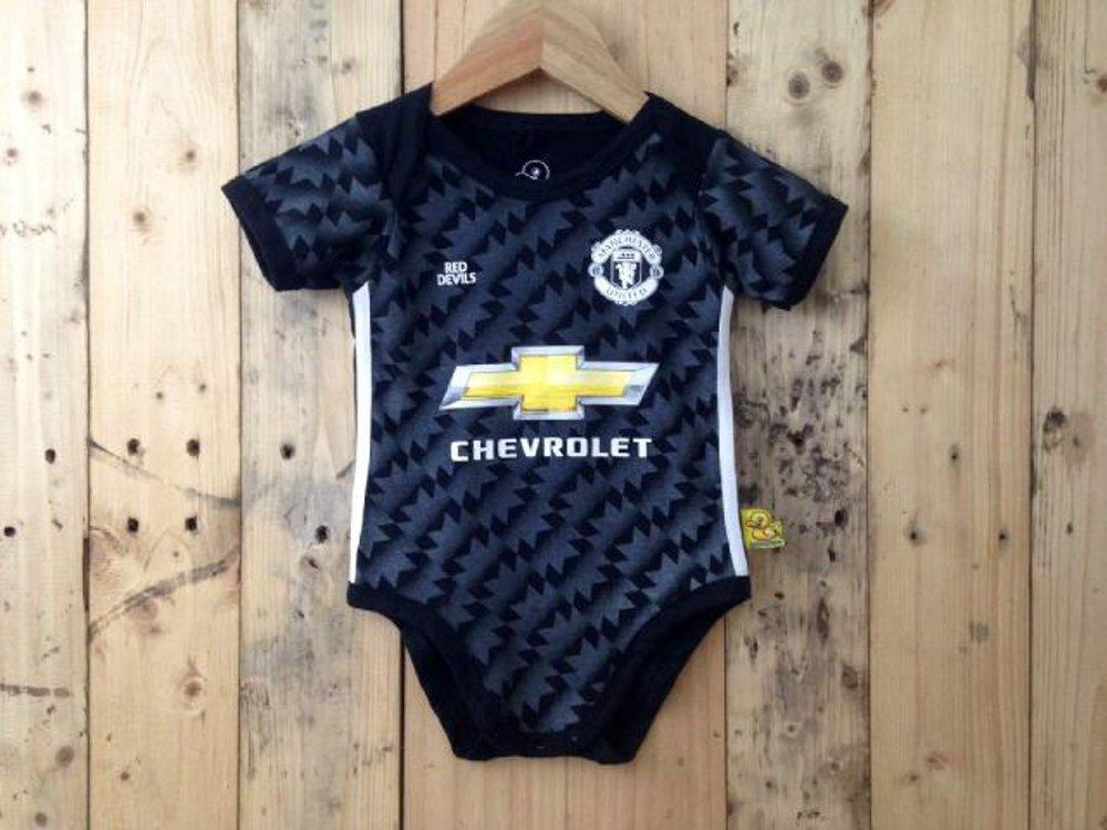 Baby jumper Manchester United Away 2017 - Kaos bola anak bayi di lapak Kaos Bola Anak Bayi nadadhiaolshop