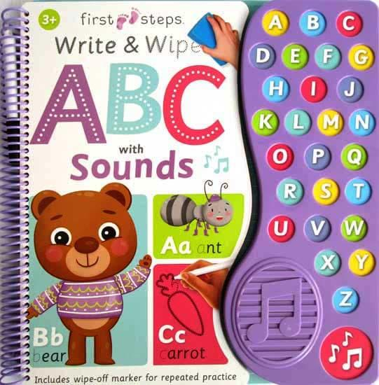 Terlaris First Steps Write And Wipe Abc With Sounds Stories For Kids Harga Grosir By Paloegada.
