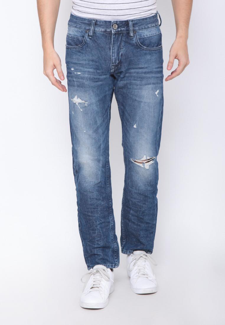Cressida Slim Basic In Dark Wash E084 Pants