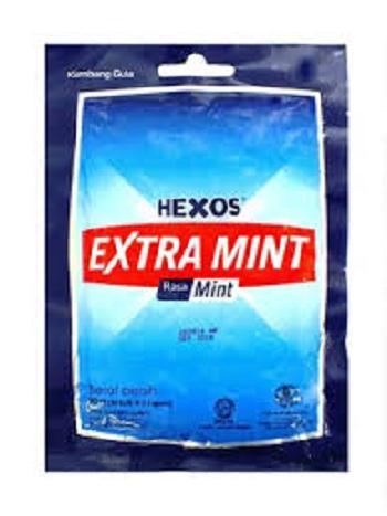 10 pcs HEXOS Extra Mint (sak)