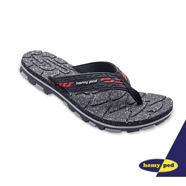 HOMYPED SANDAL PRIA STRONG 01 BLACK RED 41