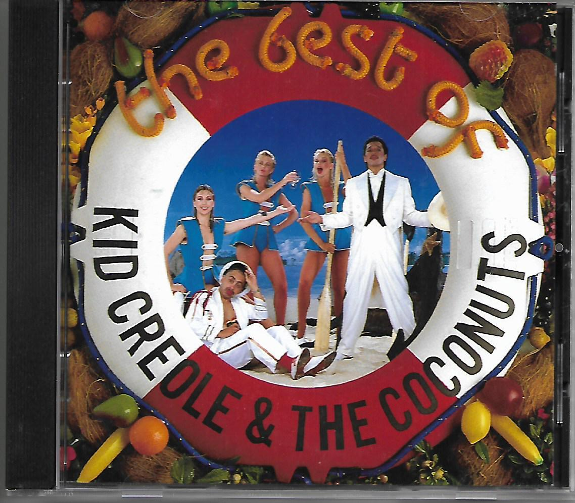 Cd Kid Creole & The Coconuts The Best Of By Et 45 Music Store