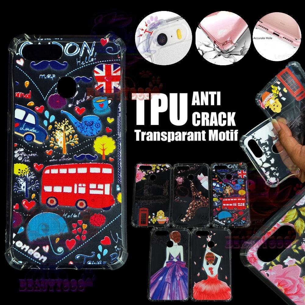 Beauty Case Anti Crack For Oppo F9 Case 3D Luxury Animasi Bus London Inggris Softcase Anti Jamur Air Case 0.3mm / Silicone Untuk Oppo F9 / Silikon Anti Shock / Case Hp / Jelly Case For Oppo F9 / Anti Crack Gambar - 2