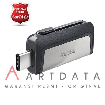 Sandisk  Type C / flashdisk OTG 32gb Up to 150MBps