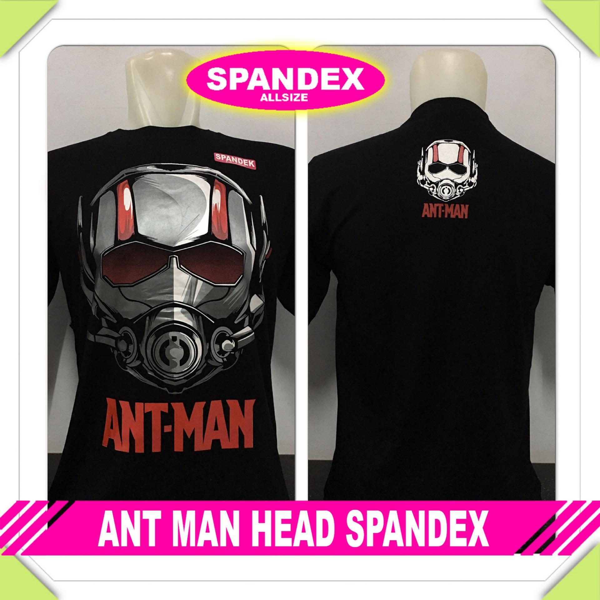 GraceStore - Kaos T-Shirt Distro / kaos Pria / Tshirt Pria / Distro Pria / Baju Pria Ant Man Head -