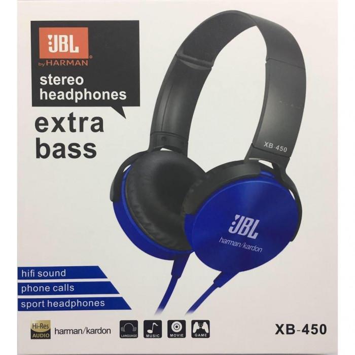 ... Telinga Headset Berlari earphone Tahan Keringat. Source · Handsfree JBL Kabel Stereo XB-450 Extra Bass