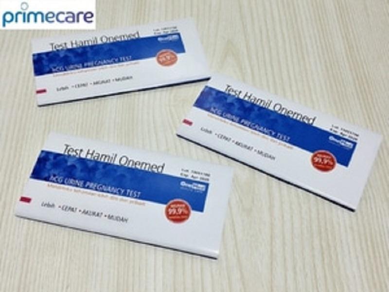 Mantapp COD - 5pcs One Med Alat Test Pack Akurat Hamil - Tes Cek Kehamilan Ibu Hamil