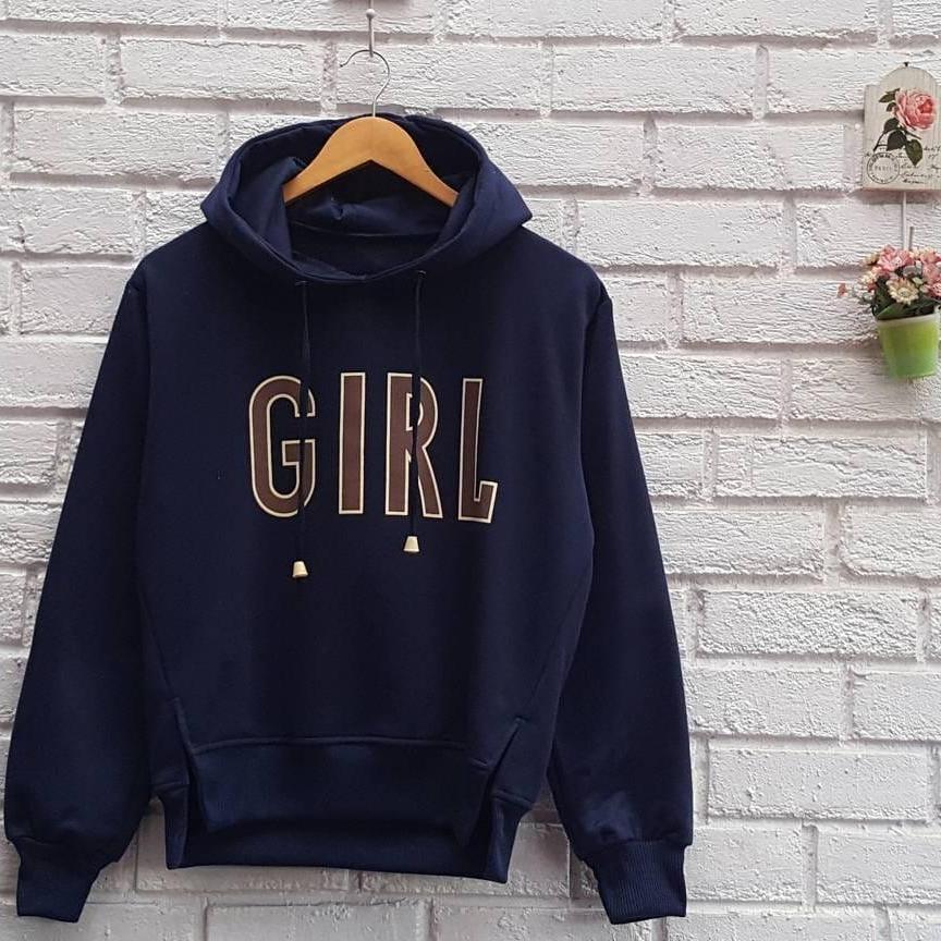 Hoddie GIRL - Sweater Hoddie Fashion- Fashion wanita