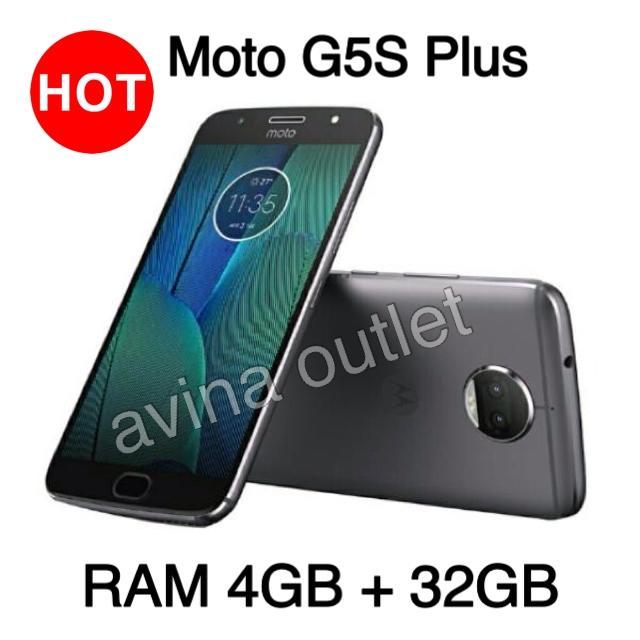 Motorola Moto G5S Plus - Ram 4GB/32GB - Lunar Grey