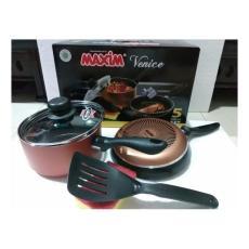 Alat Rumah Tangga Maxim Valentin set 2 Pcs Teflon