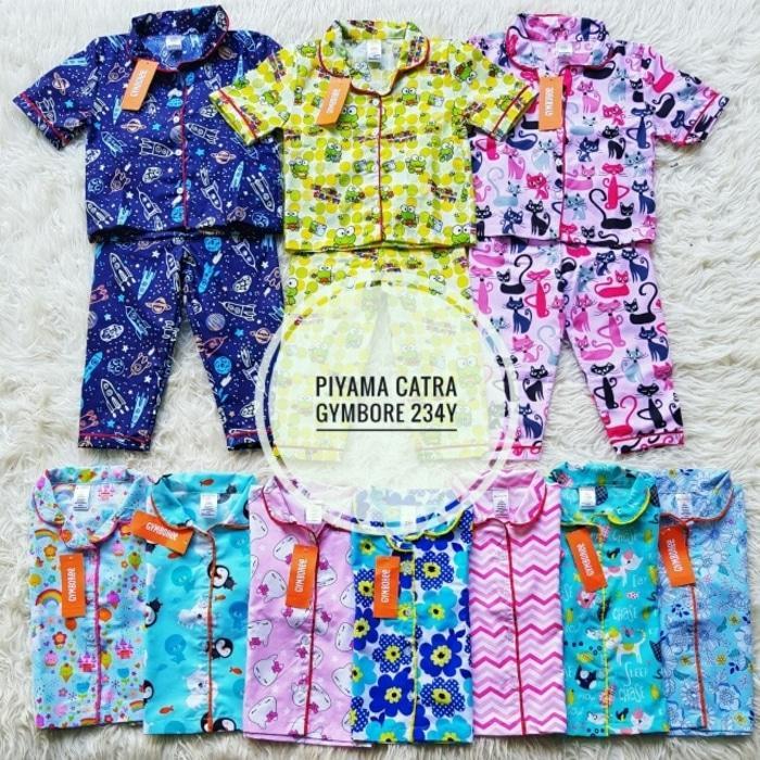 [ update terbaru ]  Piyama Baju Tidur Anak Laki Perempuan Katun Catra Gymboree (2-4thn)