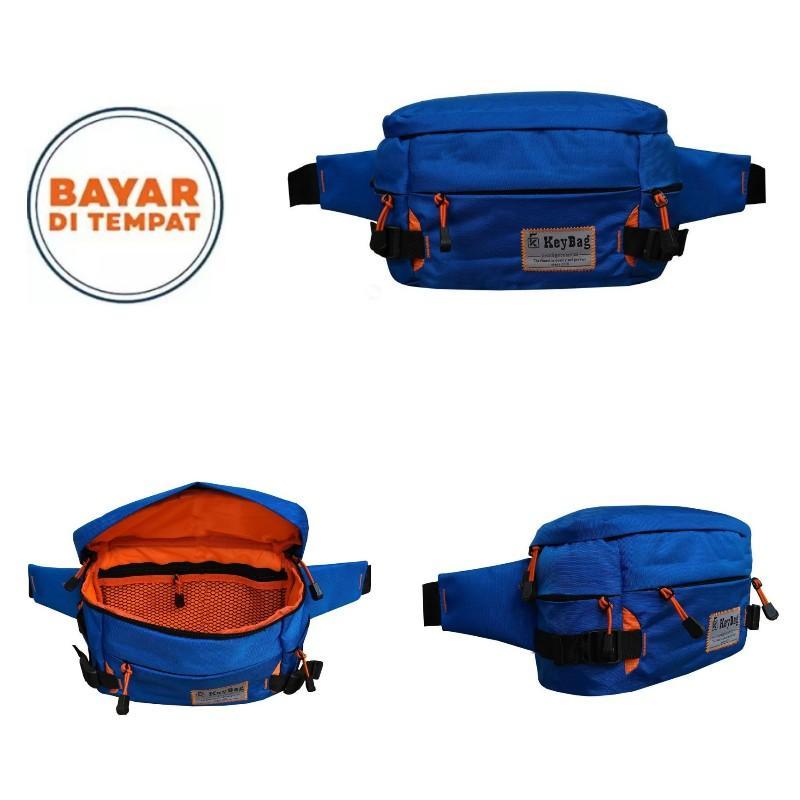 Adventurer Tas Pinggang Pria Tas bahu Waist bag Keybag ADV  015 BKZ