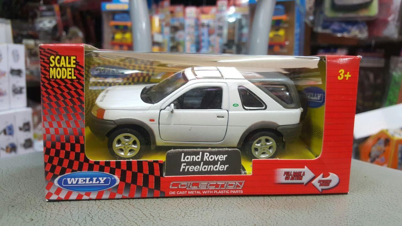 Gansatoy welly 1:38 land rover freelander white gnz 599