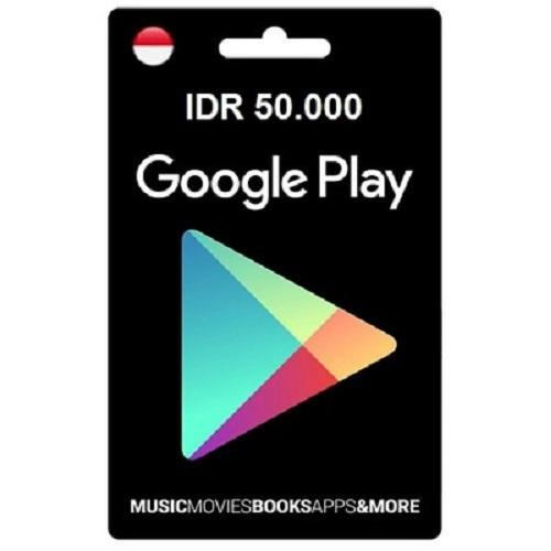 Voucher Google Play Rp. 50.000 By Wildut.