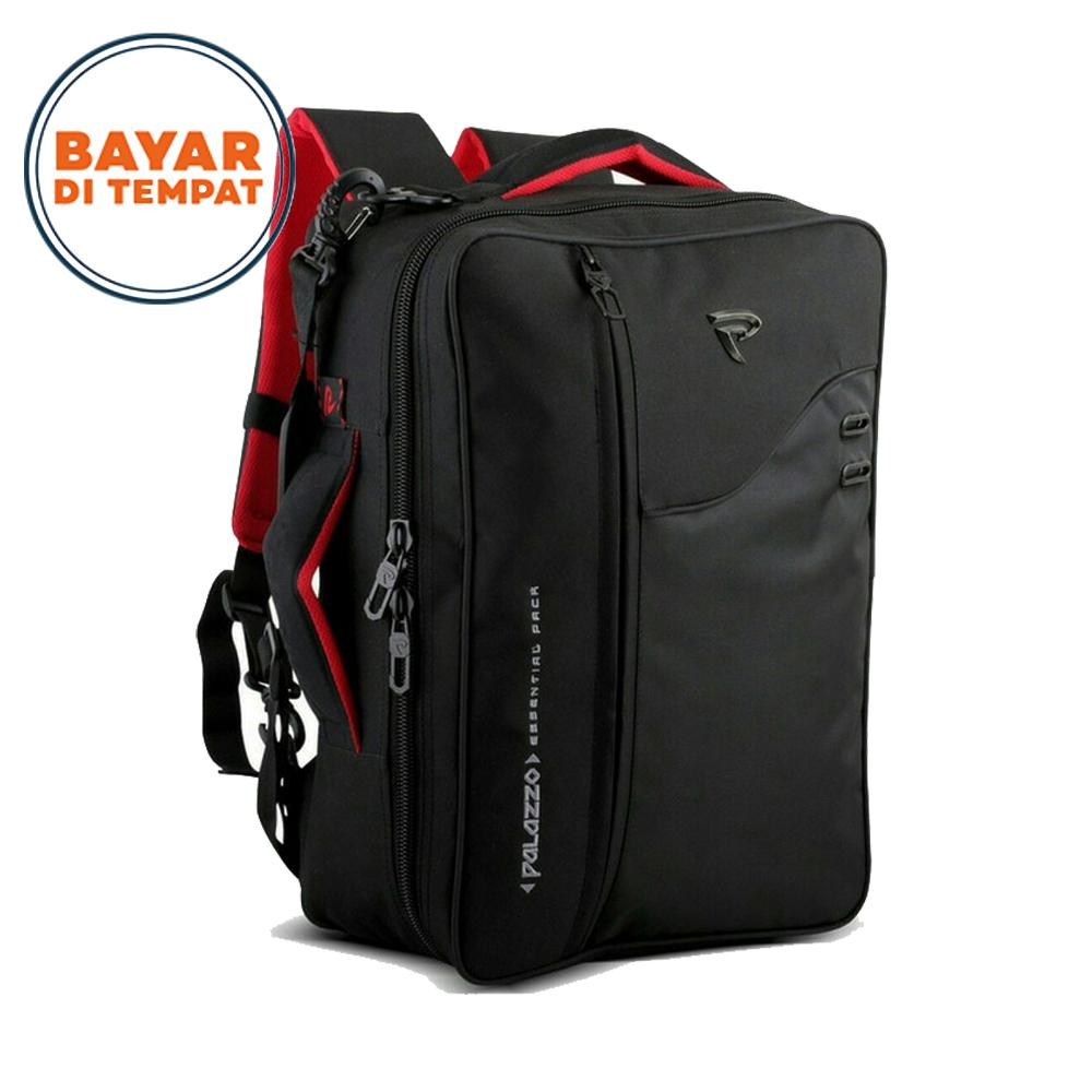 Tas Ransel Laptop PALAZZO 3in1 34685-17 Multifungsi Original - Black