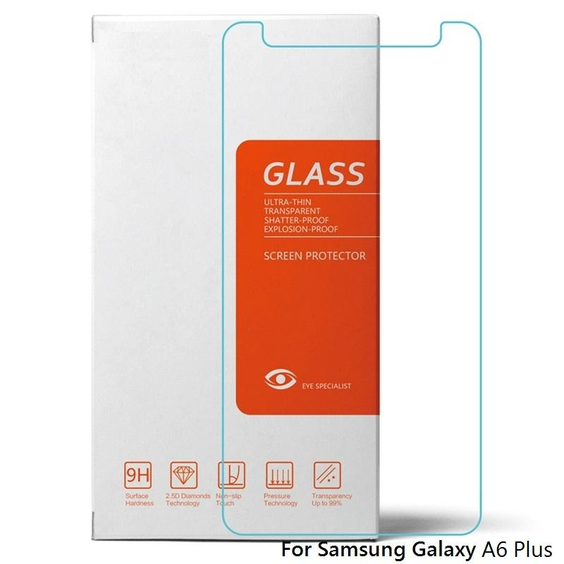 Samsung Galaxy A6 Plus Candy Tempered Glass Screen Protector (Clear)