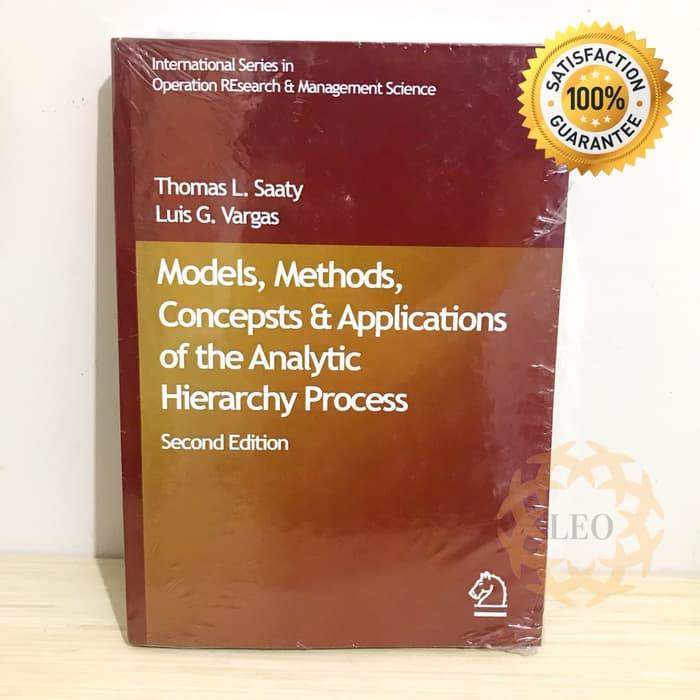 Paling Murah - Hardcover Analytic Hierarchy Process - By Saaty, Vargas - Springer - ready stock