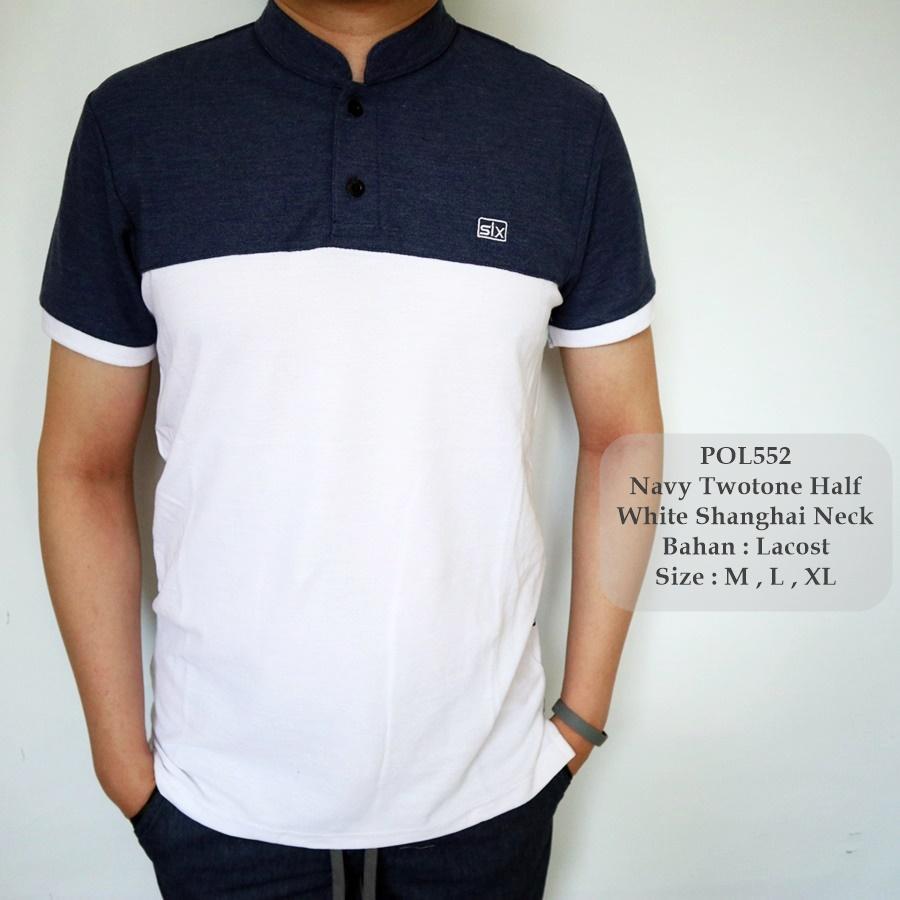Kaos Polo Shirt Pria Navy Daftar Harga Terbaru Dan Terlengkap Basic P107 Kerah C59 Original Tgf 552 Kombinasi Cowok