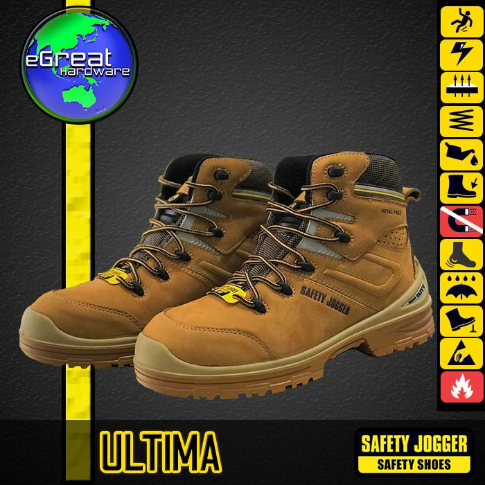 Sepatu Safety Jogger Safety Shoes ULTIMA S3 Composite Metal Free Premium d4123558ed
