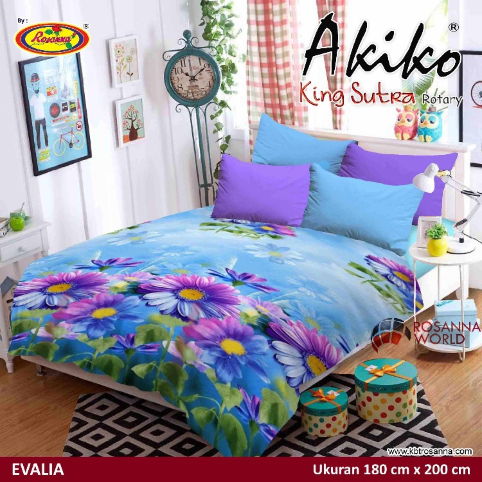 Selimut Akiko King Sutra Rotary 180x200 Evalia