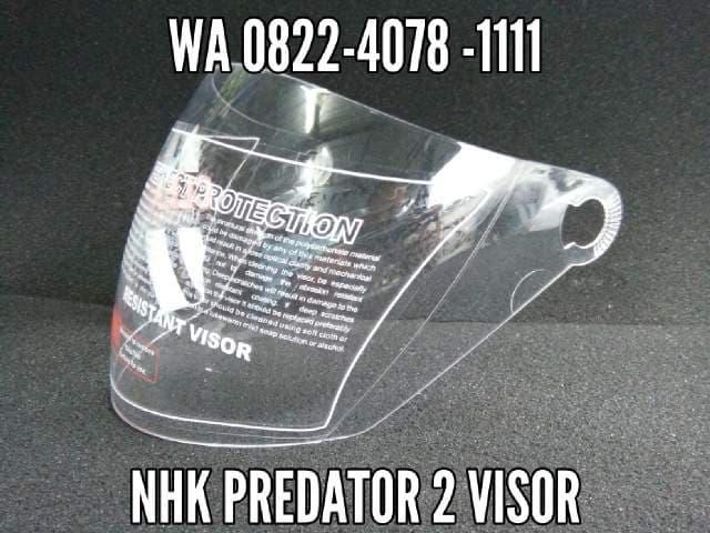 Kaca helm Nhk Predator 2 visor