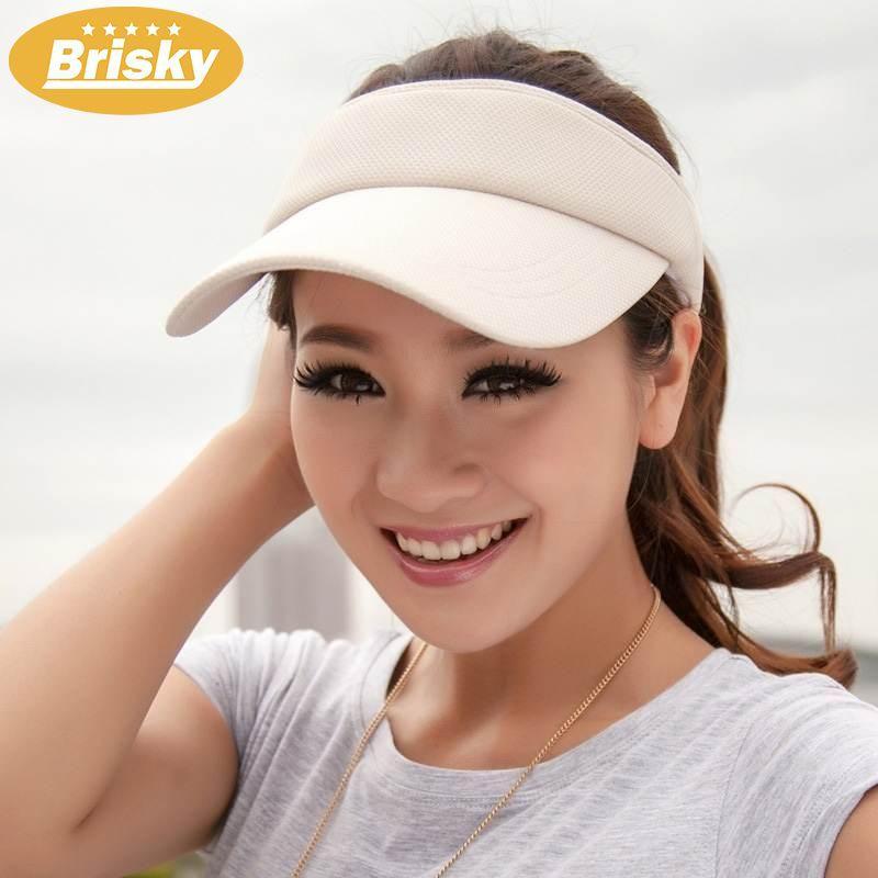 Brisky Womens Summer Golf Tennis Sports Cap Ladies Wide Brim Uv Protect Sun Visor Hat By Brisky.