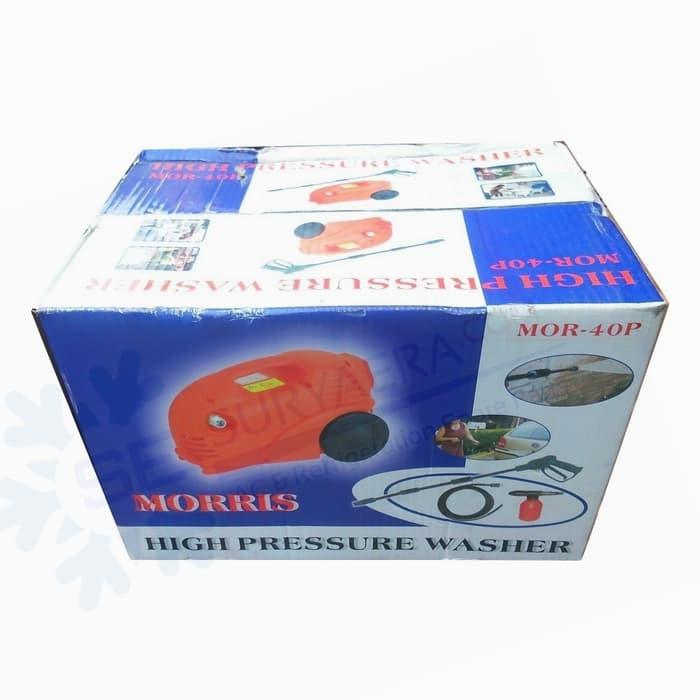 Promo Morris MOR-40P Mesin High Pressure Washer | Steam Jet Cleaner Original