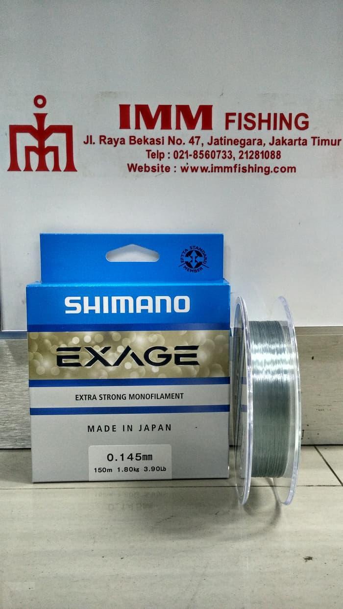 HOT PROMO!!! Tali Nylon SHIMANO Exage 150M 0.14/3.9Lb - UyNjR9