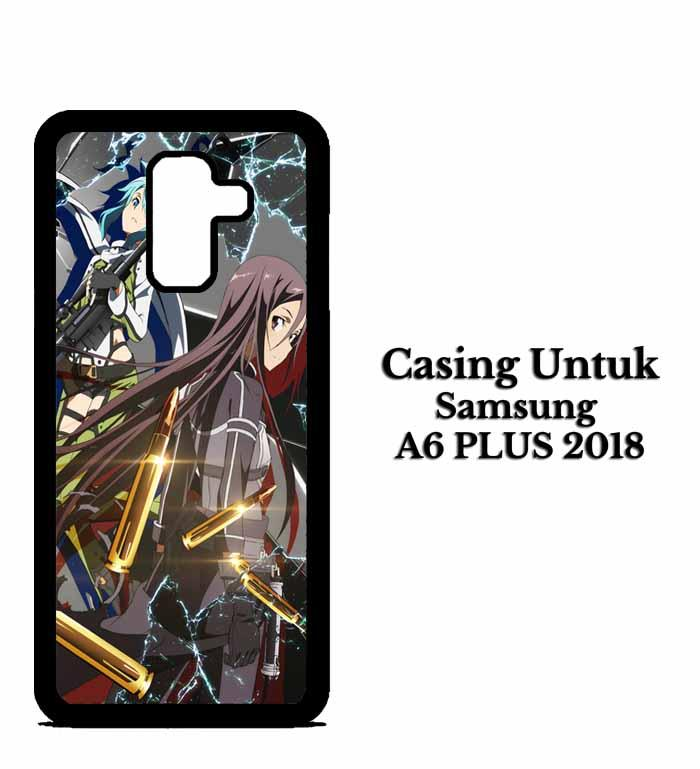 Casing SAMSUNG A6 PLUS Sword Art Online Season 2 Hardcase Custom Case Snitchshop