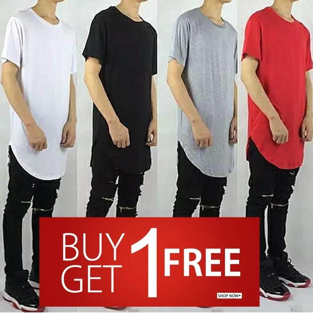Kaos Buy 1 Get 1 Free Longline