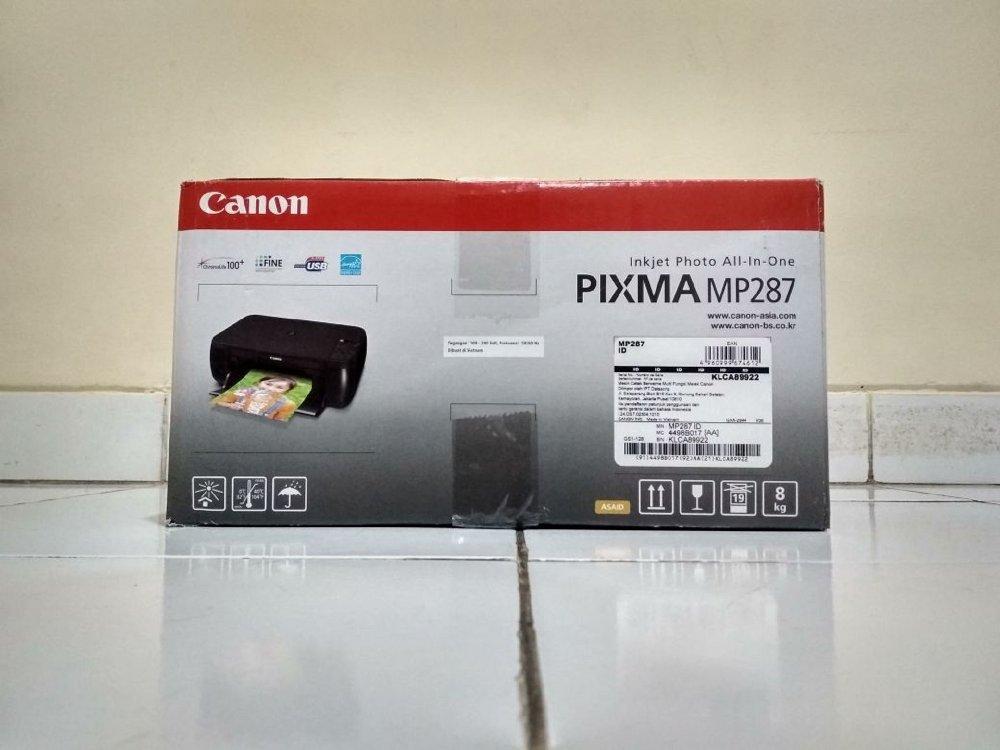 Printer Canon Pixma Mp287 By Semart Komp.