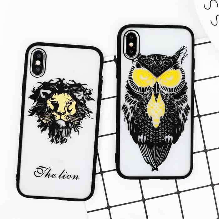 Animal Case for Vivo NEX V11 Pro Y71 Y81 Y83 Head Owl Wolf Lion Leopard Zebra Elephant Casing Soft