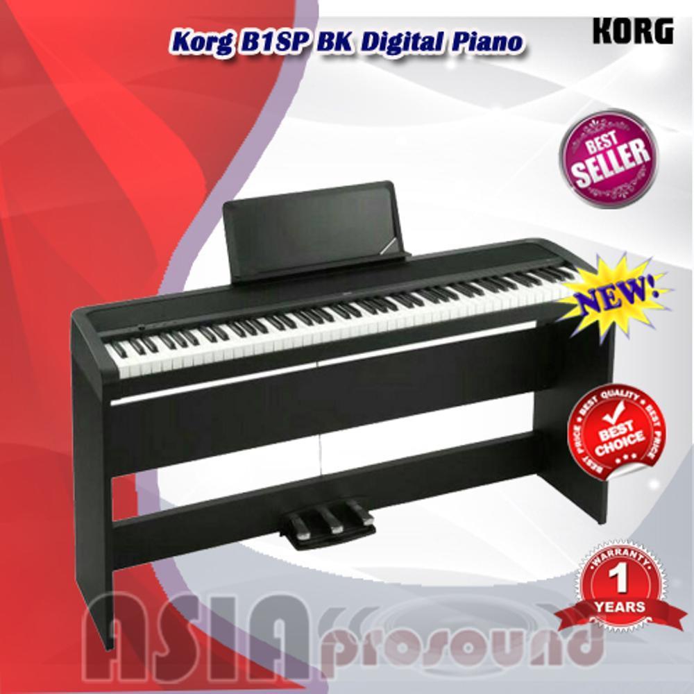 Digital Piano Korg B1SP BK - B1 SP - B1-SP - B1SP HITAM