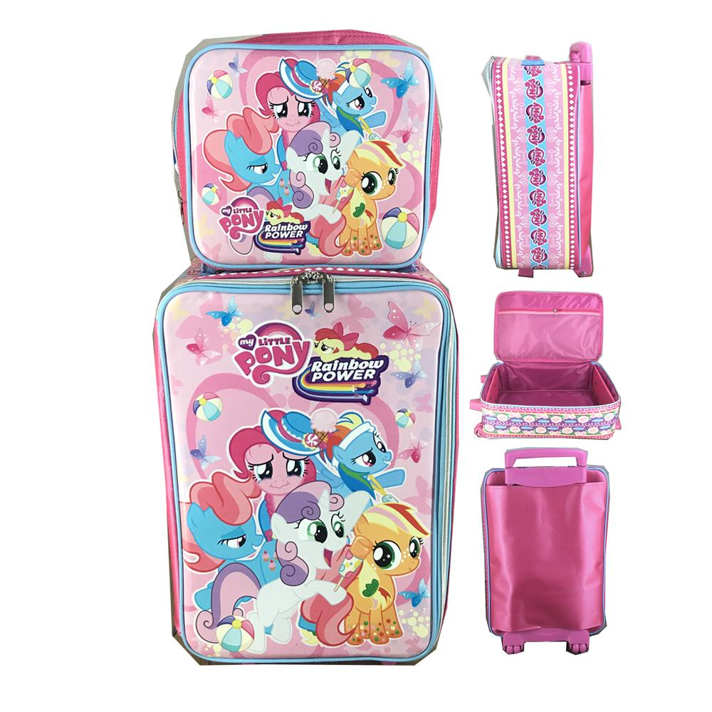 BGC Disney My Little Pony Pinkie Pony Koper Set Dengan Lunch Bag Best Pony