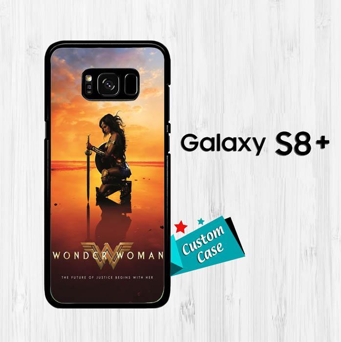 wonder woman movie Z4975 Casing HP Samsung Galaxy S8 Plus Custom Case Cover